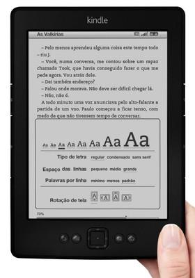 Kindle (Foto: Reprodução)