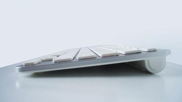 Design inspirado no teclado da Apple (Foto: Reprodução / Dario Coutinho)