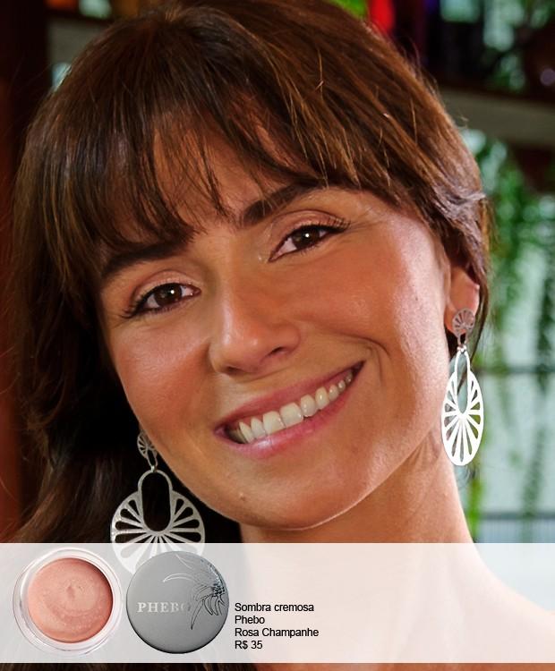 A maquiagem de Giovanna Antonelli (Foto: TV Globo)