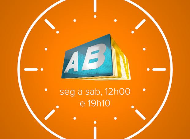 Arte horário ABTV (Foto: Reprodução / TV Asa Branca)