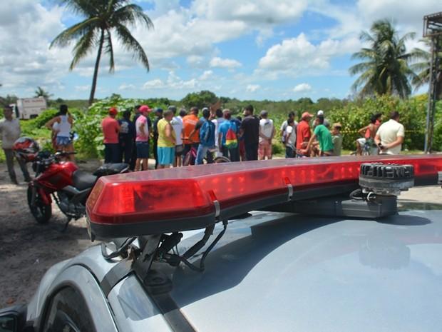 Caso vai ser investiado pela Delegacia de Homicídios (Foto: Walter Paparazzo/G1)