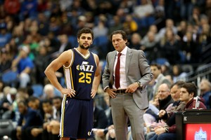 Raulzinho Jazz x Wolves NBA (Foto: Getty)