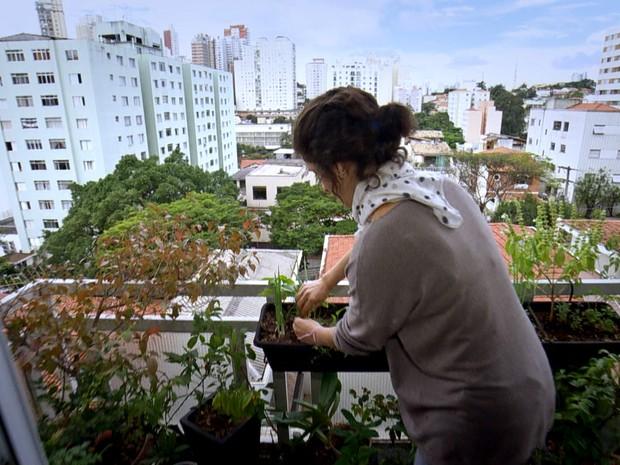 Brasileiros colocam a mão na terra e produzem alimentos que consomem (Grep) (Foto: Globo Repórter)