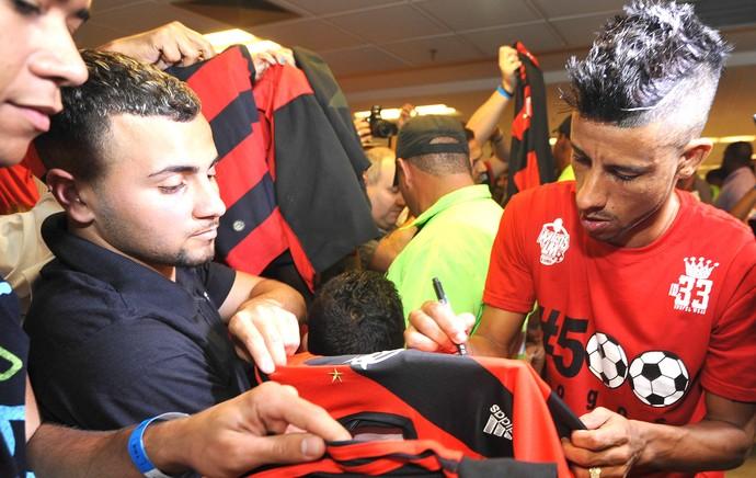 Léo Moura, Maracanã Flamengo (Foto: Divulgação )