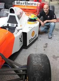 Adhemar Cabral - designer vai recriar carros de Senna (Foto: Divulgação)