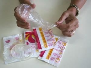 Grupos prioritários receberão preservativos femininos, no Espírito Santo. (Foto: Divulgação/Secretaria de Saúde)