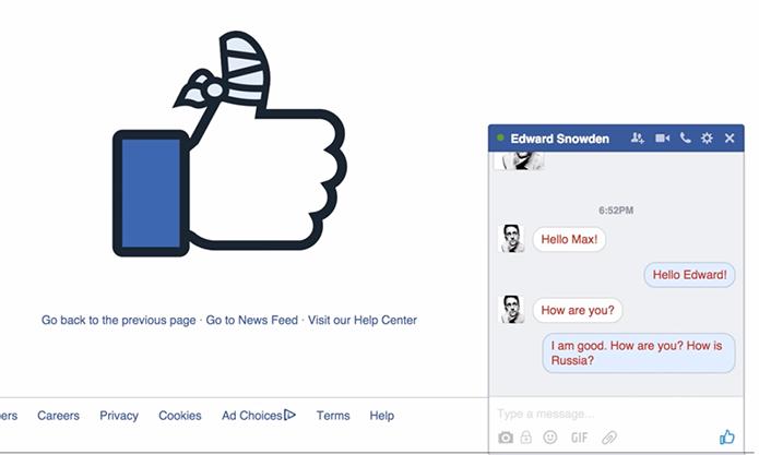 Facebook bloqueou plugin que prometia mais segurança no Messenger (Foto: Reprodução/Crypter)