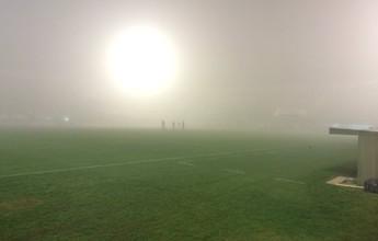 Neblina paralisa Chape x Atlético-PR, e confronto é adiado para quinta-feira