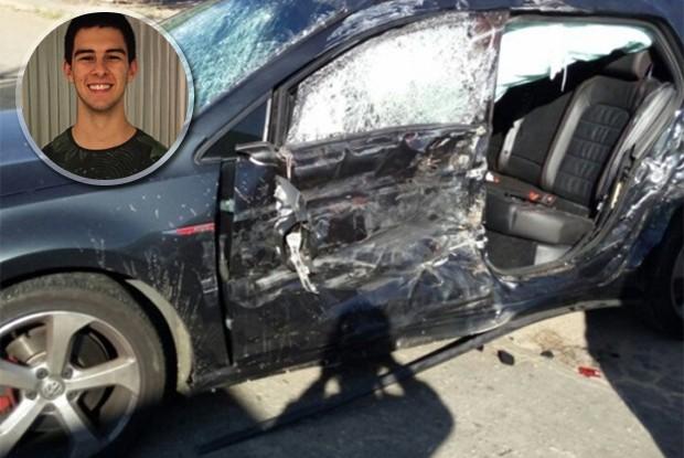 Resultado de imagem para Filho de Fátima Bernardes e William Bonner sofre acidente de carro