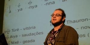 Aula ensina língua dos elfos de 'O senhor dos anéis'; VEJA VÍDEO (Divulgação/Daniel Nascimento/Campus Party)