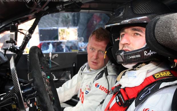 Robert Kubica no Rally das Ilhas Canárias (Foto: Divulgação)