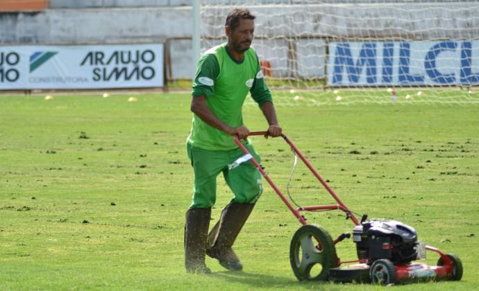 Gramado Joaquinzão Taubaté (Foto: Filipe Rodrigues)