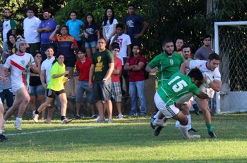 Alecrim vence Piauí e fatura quarto título da Liga Nordeste de Rugby (Foto: Emanuele Madeira/GLOBOESPORTE.COM)