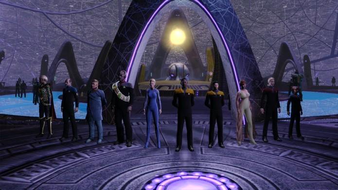 Star Trek Online permitirá criar seu próprio capitão entre 3 facções diferentes para viver aventuras no espaço (Foto: Reprodução/Dual Shockers)