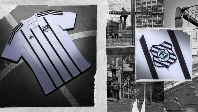 uniforme adidas figueirense número 2 (Foto: Divulgação / Adidas)