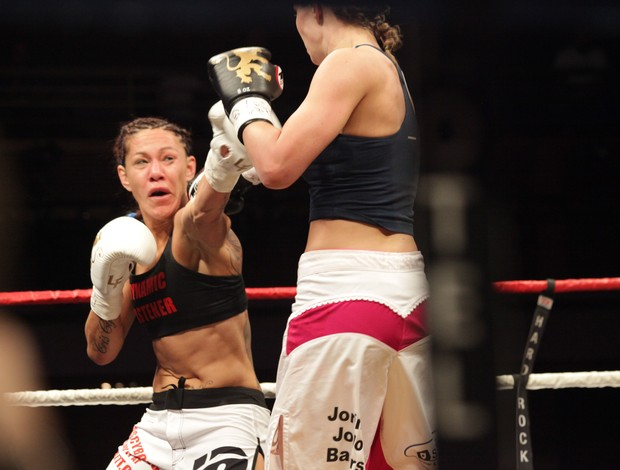 Cris Cyborg, Lion Fight (Foto: Evelyn Rodrigues)