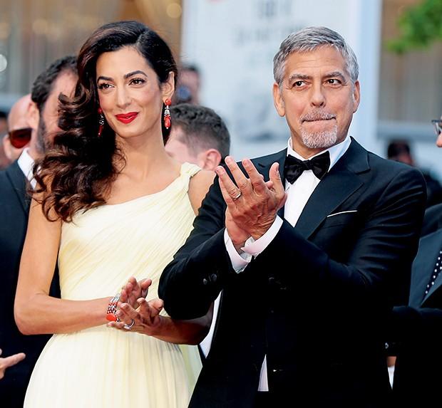 Amal e George Clooney  (Foto:  )