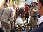 Moradores relatam tensão de resgate após adutora se romper no Rio