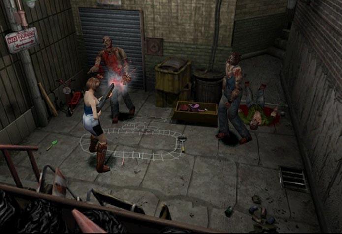 Resident Evil 3: Nemesis trouxe novidades e belos gráficos (Foto: Reprodução)
