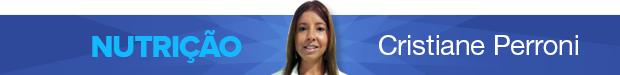 Header coluna - Cristiane Perroni - Nutrição -  - Eu Atleta - Especialista (Foto: Editoria de Arte / GLOBOESPORTE.COM)