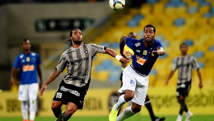 Carlos Alberto Botafogo e Dedé Cruzeiro Série A (Foto: Agência Getty Images)