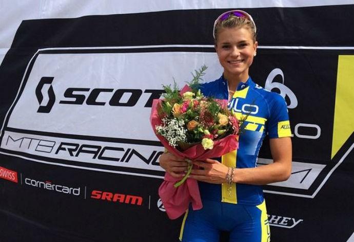 Jenny Rissveds, ciclista (Foto: Reprodução/Instagram)