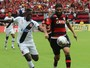 Wallace finca bandeira sem dominar emoções em derrota do Flamengo