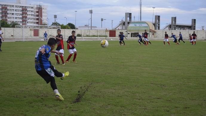 Estrela da Manhã vence, Ypiranga e Trem empatam no estadual Sub 15 (Foto: Jonhwene Silva/GE-AP)