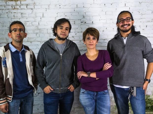 Fotógrafos do Foto pra levar (Foto: Foto pra Levar/ Divulgação)