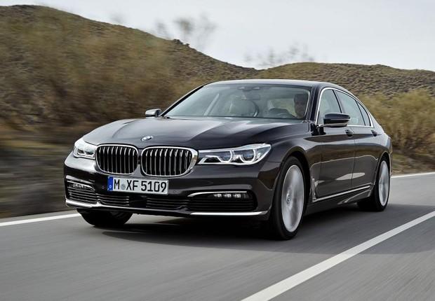 Carro da nova Série 7 da BMW: luxo ultrapremium também no Brasil (Foto: Divulgação)