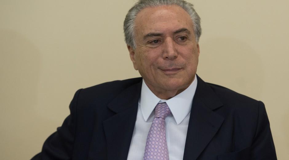 """Para o presidente da república Michel Temer, o """"Brasil tem rumo"""" novamente (Foto: Reprodução/Agência Brasil)"""