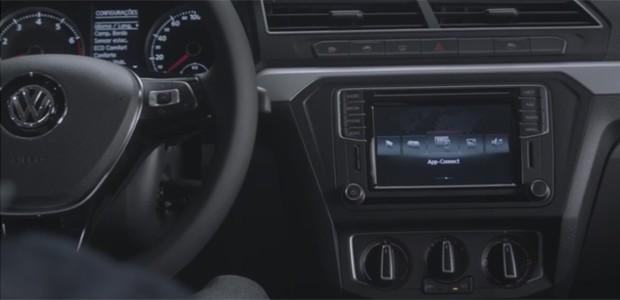 Volkswagen Gol 2017 terá sistema de conectividade (Foto: Reprodução / Youtube)