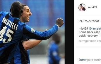 BLOG: Ex-companheiros de Ibrahimovic, Balotelli e Adriano Imperador dão apoio ao sueco