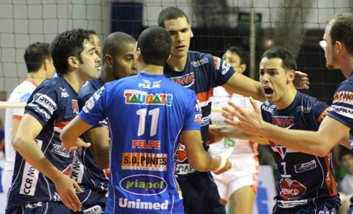 São Paulo/Taubaté (Foto: Divulgação Funvic Taubaté/São Paulo FC)