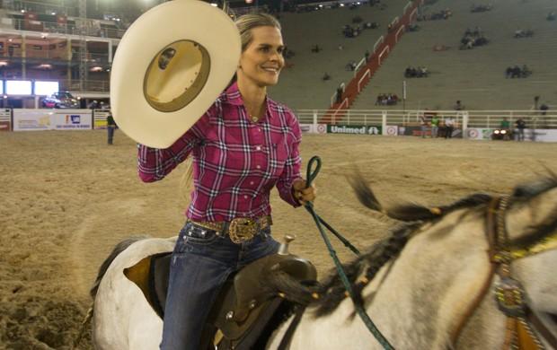 Fatiana Ferreira ficou na terceira colocação da etapa Barretos da ANTT (Foto: Alfredo Risk)