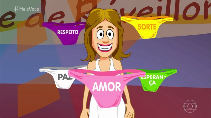 Ana Maria Braga ensina simpatias para obter prosperidade financeira em 2017 (Foto: TV Globo)