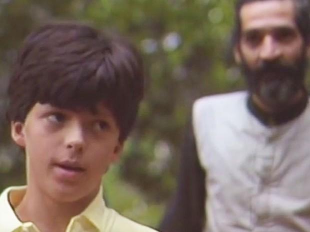 Daniel Lobo como Pedrinho no Sítio do Picapau Amarelo (Foto: Reprodução/TV Globo)