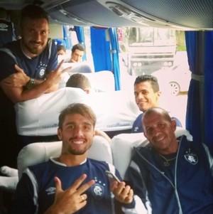 Viagem elenco do  Remo para Cametá (Foto: Reprodução/ Instagram)