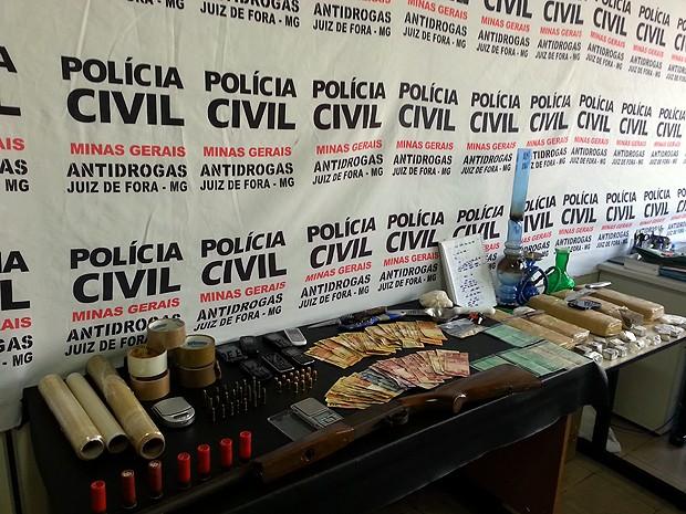 Operação Juventude Perdida Juiz de Fora (Foto: Jéssyka Prata/G1)