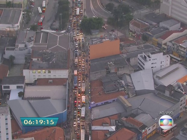 Protesto (Foto: Reprodução/TV Globo)
