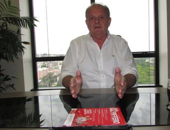 Vitorio Piffero ex-presidente Inter (Foto: Tomás Hammes / GloboEsporte.com)
