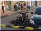 Deficiente físico morre após ser atropelado por ônibus em Alfenas, MG
