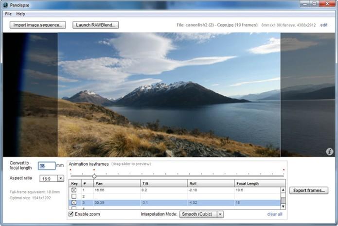 Panolapse adiciona recurso de time lapse em suas edições (Foto: Reprodução/Teresa Furtado)