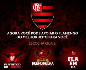 Fla em Dia Flamengo da Nação (Foto: Reprodução/Site oficial do Flamengo)