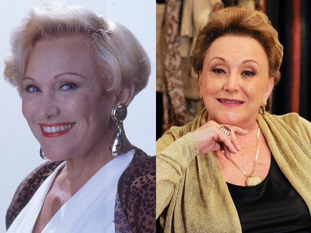 Nicette Bruno era a dondoca Julieta Sampaio, a Juju (Foto: Vídeo Show / Gshow)