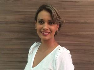 A empresária Nicia Coutinho enfrenta dificuldades para pagar as contas em dia (Foto: Nicia Coutinho/Arquivo Pessoal)