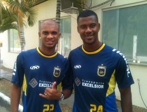 Daniel Marins e Leo Oliveira, novos reforços do Voltaço (Foto: Igor Bravo/Fair Play Assessoria)