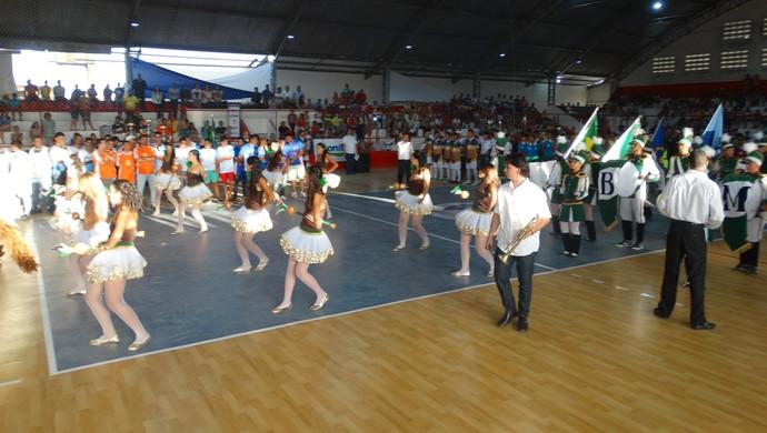 Abertura Copa TV Asa Branca de Futsal (Foto: André Vinícius / GloboEsporte.com)
