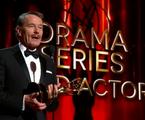 Bryan Cranston recebe o Emmy de Melhor Ator de Drama por 'Breaking bad' | Reprodução da internet