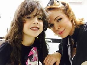 Babi Xavier com a filha Cinthia, de 4 anos (Foto: Reprodução/Instagram)